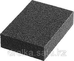 """Губки шлифовальные STAYER """"MASTER"""" четырехсторонние, зерно - оксид алюминия, 100x68x26 мм., фото 2"""