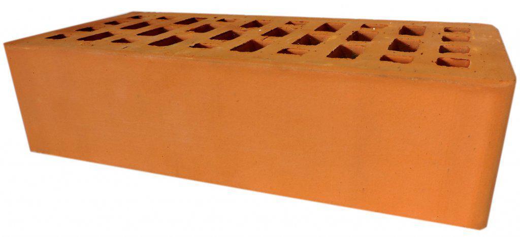 Кирпич керамический лицевой одинарный персик 250*120*65 г. Новосибирск