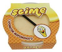 """Жвачка для рук Slime с трубочкой """"Аромат мороженого"""", 300 гр."""