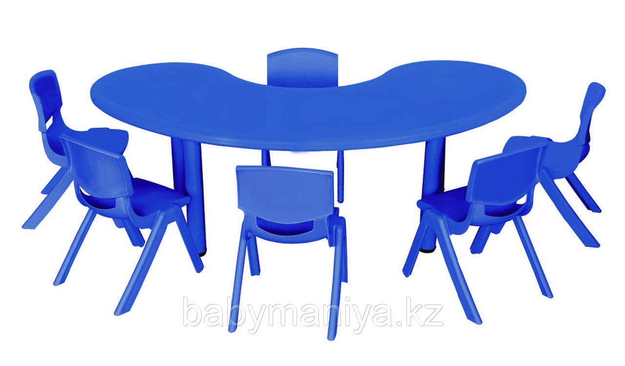 Стол детский, форма волны QIANGCHI QC-01002