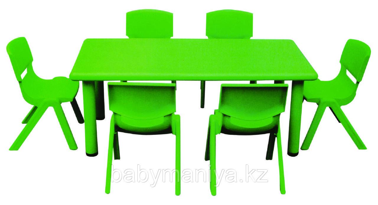 Стол детский, прямоугольный QIANGCHI QC-01001