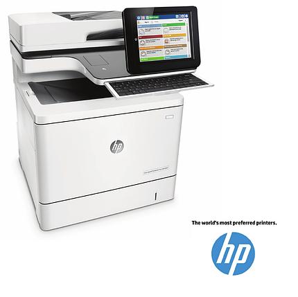 Лазерный Цветной Принтер/сканер/копир/факс/ МФУ HP B5L47A  M577f Color LaserJet Enterprise(МФП), фото 2