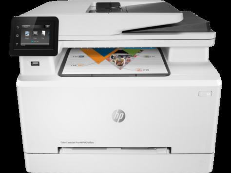 Лазерный Цветной Принтер-Сканер(АПД-50с.)-Копир-Факс МФУ HP M281fdw T6B82A  Color LaserJet Pro(МФП)