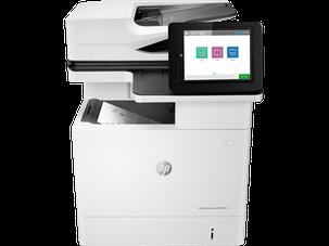 Лазерный Приетер +сканер+копир.МФУ HP M631dn J8J63A LaserJet Enterprise M631dn, фото 2