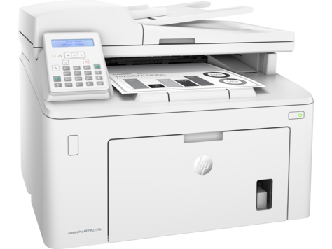 Лазерный Монохромный Принтер/Сканер/Копир/Факс МФУ HP M227fdn G3Q79A LaserJet Pro(МФП)
