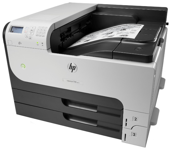 HP M712dn Лазерный Принтер LaserJet Enterprise(CF236A)(черно-белая печать)