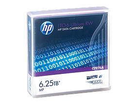HP C7976A Картридж Enterprise/Ленточный/6 250 Gb/LTO-6 Ultrium 6.25TB MP RW