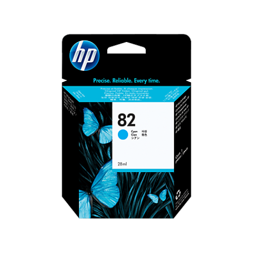 HP C4911A Картридж голубой №82 69 мл