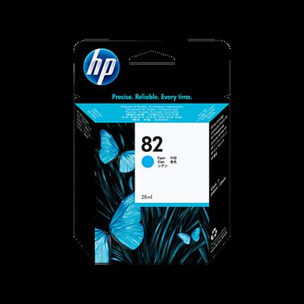 HP C4911A Картридж голубой №82 69 мл, фото 2