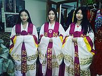 Корейские костюмы на прокат в Алматы
