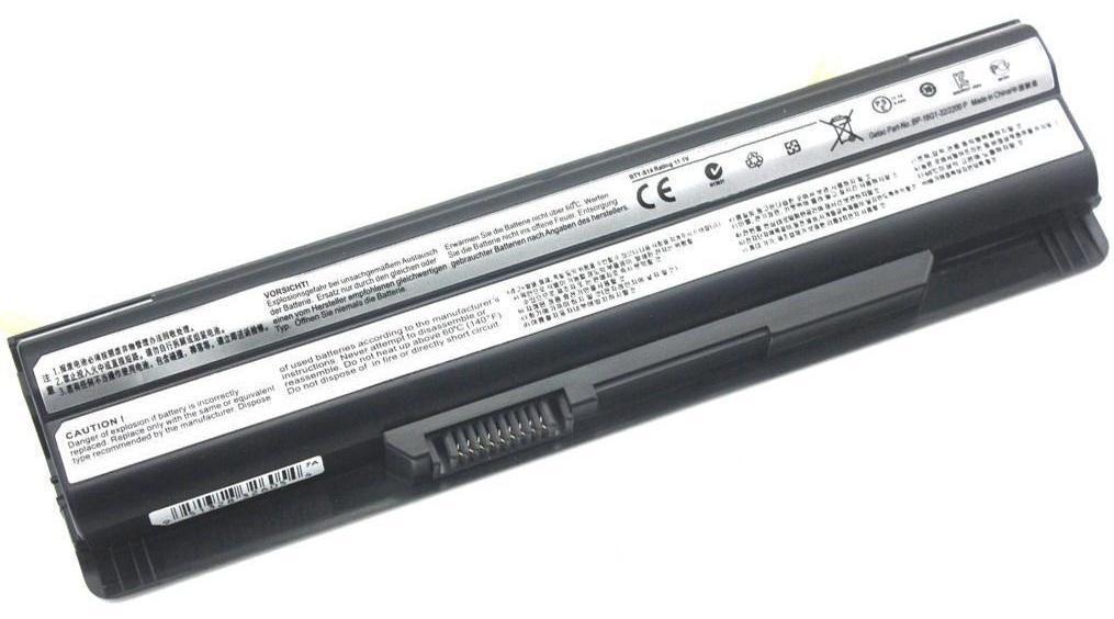 Аккумулятор для ноутбука MSI GE70 (11.1V 5200 mAh)
