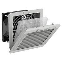 11611101055 Вентилятор с фильтром PF 11.000 230V AC IP54 RAL7035 92x92 мм, фото 1
