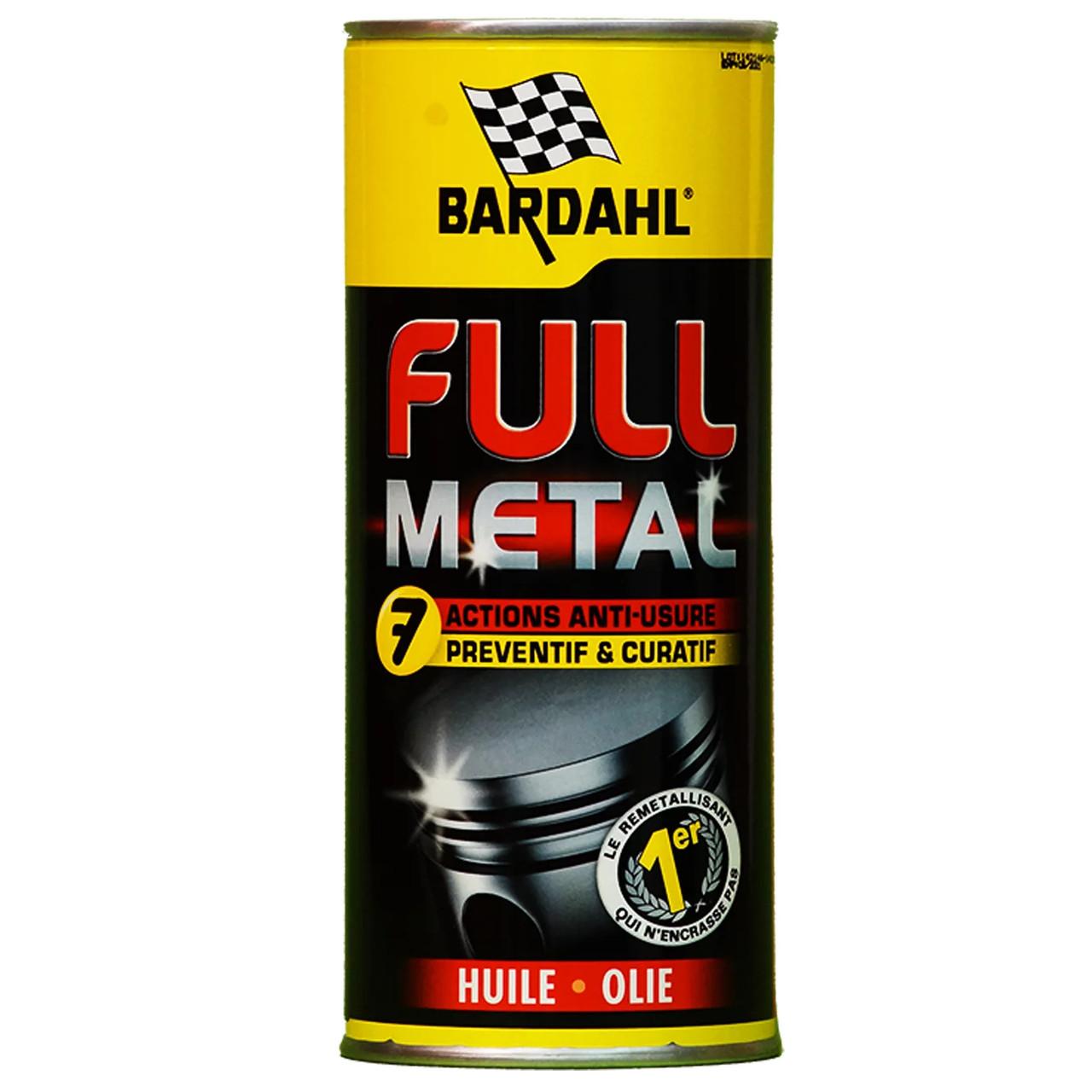 Bardahl Full Metal Комплексное восстановление и защита для проблемных двигателей(Франция)