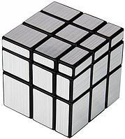 Головоломка Зеркальный Кубик Рубика Серебряный