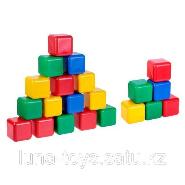 Набор кубиков 12 см, 21 шт