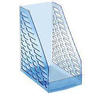 Лоток вертикальный STAMM XXL-ЭКО, ширина 16 см, прозрачный голубой