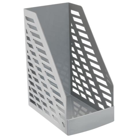 Лоток вертикальный STAMM XXL-ЭКО, ширина 16 см, серый