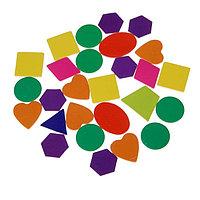 """Счетный материал """"Изучаем фигуры и цвета"""", 55 элементов"""