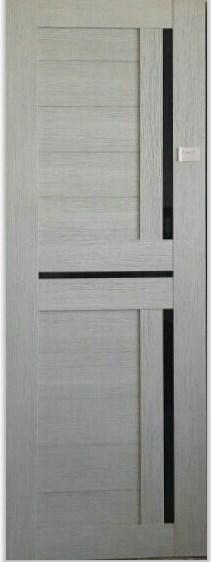 Межкомнатная дверь из экошпона ИНТЕРА18- 3D FLEX капучино