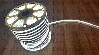 Флекс неон белый 1,5*2,5 см, SMD. Flex neon белого цвета, гибкий холодный неон. LED NEON