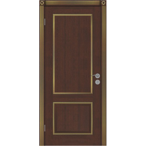 Дверь межкомнатная Бергамо-3 коньяк ДО, ДГ