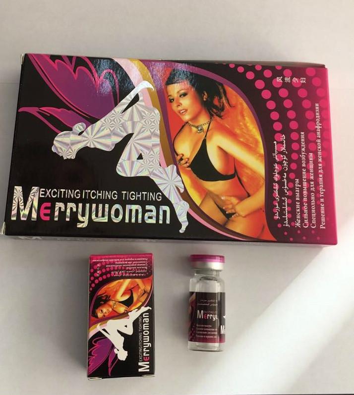 Merry Woman возбуждающие капли для женщин,10мл*9 флаконов