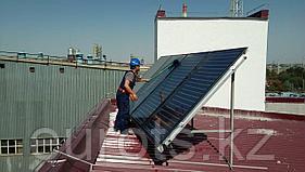 Мы установили солнечные коллектора в Шымкенте!