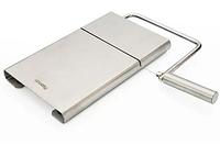 8679 FISSMAN Доска для нарезки сыра 21x12 см со струной (нерж. сталь)