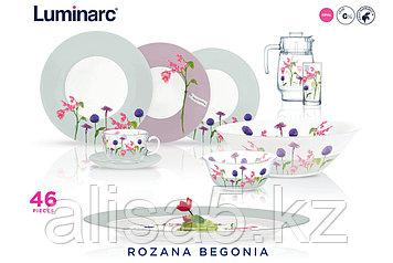 Сервиз столовый Rozana Begonia 46 предметов на 6 персон