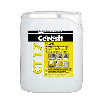 Ceresit CT 17 PROFI Грунтовка универсальная глубокопроникающая водно-дисперсионная 10 л
