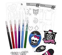 Набор Monster High Создание маек и футболок T-Shirt Design Set, фото 1
