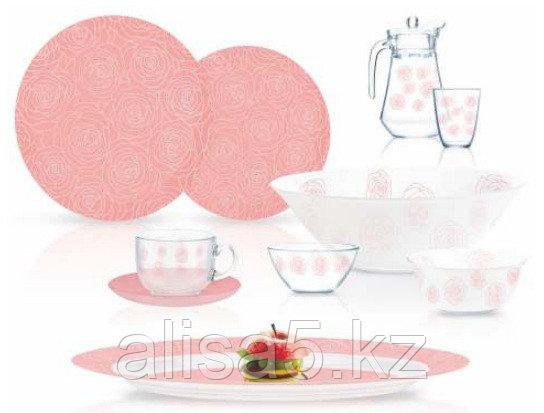 Dalyeza light Pink сервиз столовый 46 предметов на 6 персон