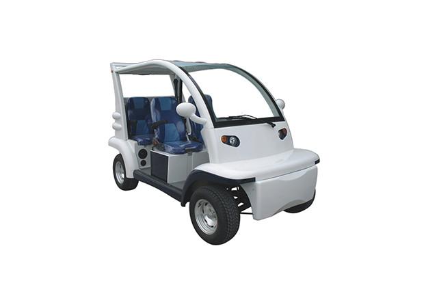Пассажирский кар 4-х местный открытого типа белого цвета EG6043KR-00