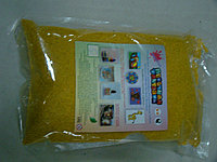 """Цветной песок. Песок в пакете """"Желтый"""" (№5) арт.405 (1000гр.), фото 1"""
