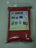 """Цветной песок. Песок в пакете """"Красный"""" (№1) арт.401 (1000гр.), фото 1"""