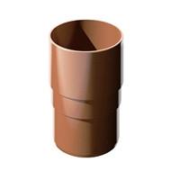Муфта трубы соединительная D= 82мм