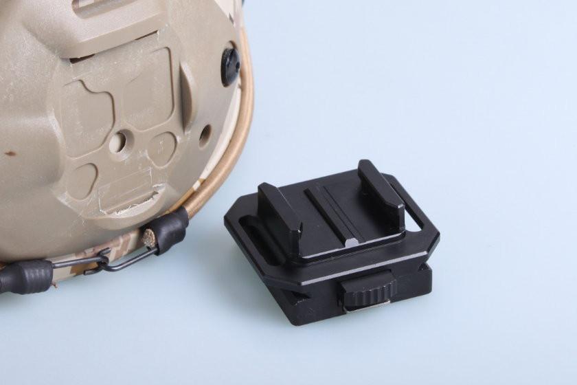 Крепление на шлем GoPro NVG Mount (под быстросъемную клипсу)
