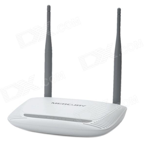 Mercury MW300R беспроводной 300 Мбит 4-LAN двойной антенны Wi-Fi маршрутизатор