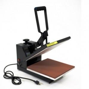 Термопресс для  нанесения изображения на футболки, размер стола 38*38  SHT-15LP2 с выдвижным механизмом стола