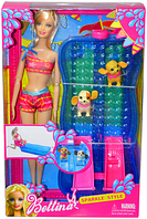 68012 Bettina  Барби с бассейном и 2 собачки    33*21  Немного помятая коробка, фото 1