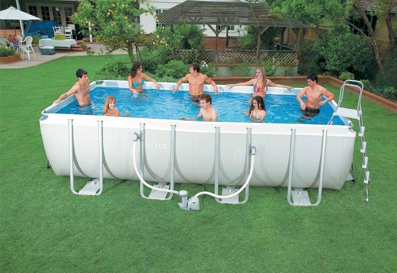 "Каркасный бассейн ""Intex Ultra Frame"" (400* 200* 100 см)"