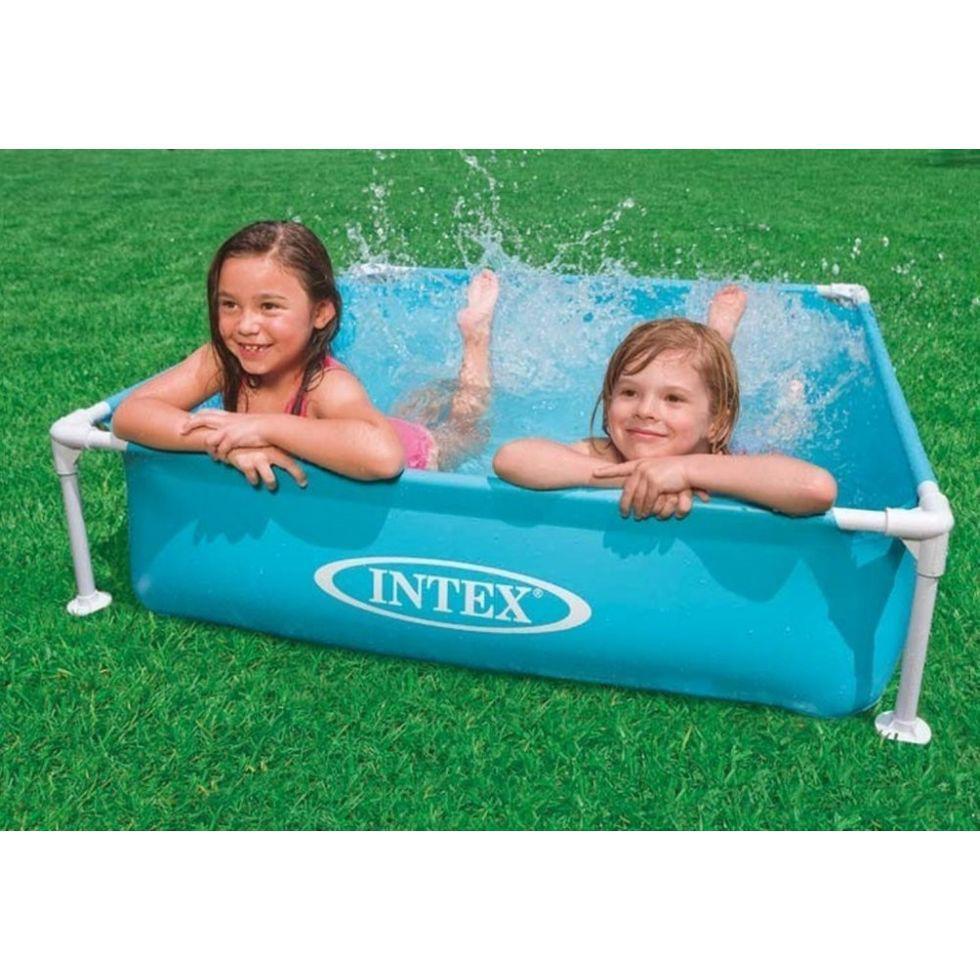 "Каркасный детский бассейн ""Mini Frame Pool Intex""  (122* 122* 30 см)"