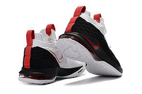 Баскетбольные кроссовки Nike Lebron 15 Low (низкие) Black\White, фото 2