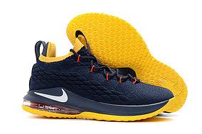 Баскетбольные кроссовки Nike Lebron 15 Low (низкие) Blue