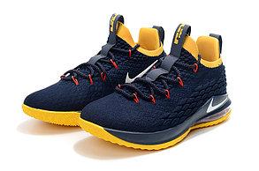 Баскетбольные кроссовки Nike Lebron 15 Low (низкие) Blue, фото 2