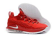 Баскетбольные кроссовки Nike Lebron 15 Low (низкие) Red