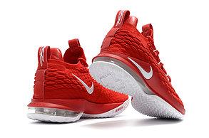 Баскетбольные кроссовки Nike Lebron 15 Low (низкие) Red, фото 2