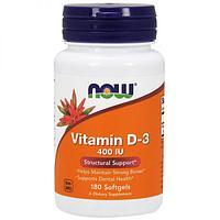 БАД Витамин D-3, 400 ME (180 капсул)