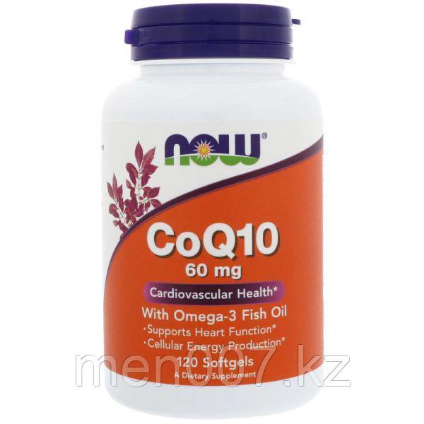 БАД Коэнзим CoQ10 с рыбьим жиром Омега-3 (120 капсул)