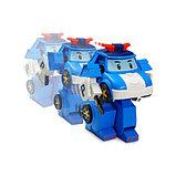 Робот-трансформер Поли на радиоуправлении (31 см). Управляется в форме робота, фото 2